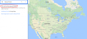 More tab-Google maps